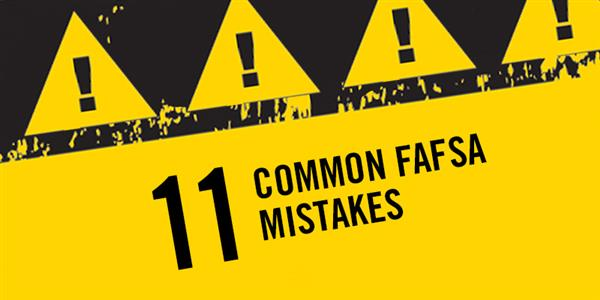Avoid These Common FAFSA Mistakes
