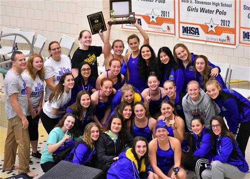 Girls Swimming & Diving NSC Champions