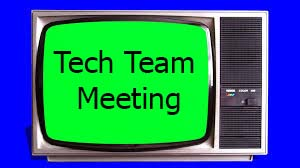 Tech Team Meeting